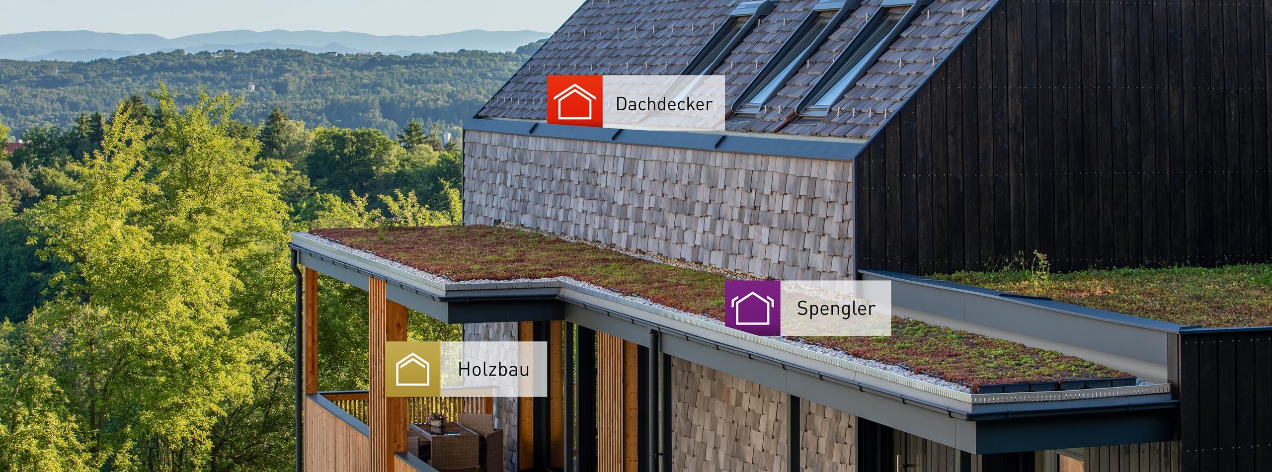 HSP Holzbau Dachdecker Spengler Kirchbach Steiermark